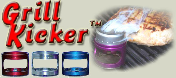 GrillKicker for cold smoking or hot smoke on your BBQ grill