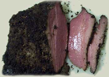 How to make smoked pastrami.